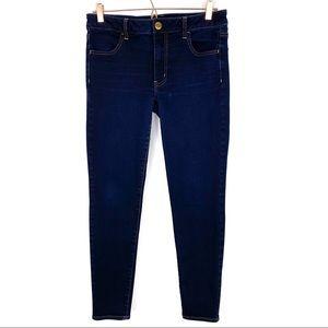 American Eagle Dark Wash Jegging Skinny Jeans 12